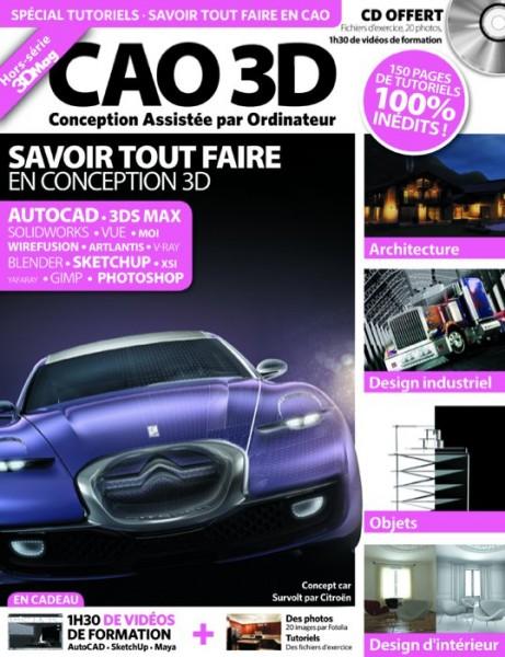 Couverture de 3Dmag Hors Série CAO 3D